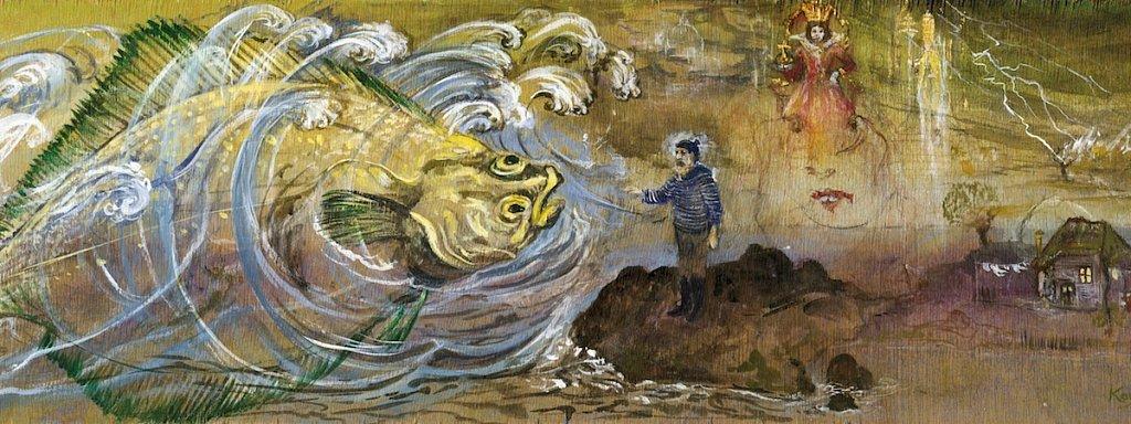 von dem Fischer un sine Fru