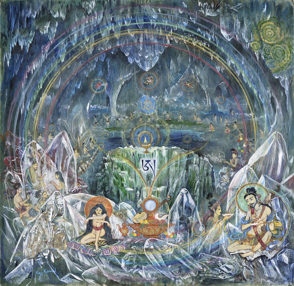 Kristallhöhle der Yogis
